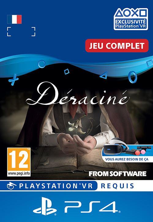 Code de téléchargement Déraciné PS4