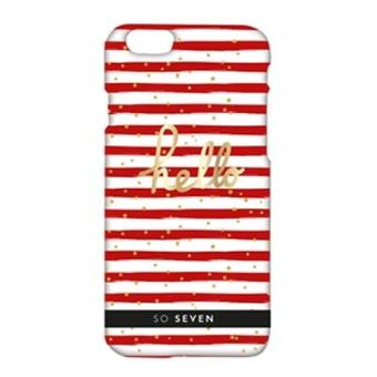 Coque So Seven Cruise pour iPhone 6/6s Rouge