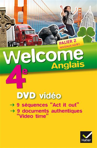 Welcome Anglais 4e éd. 2013 - DVD vidéo