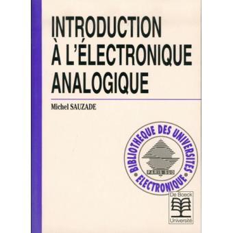 Introduction A L Electronique Analogique