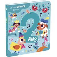 Le livre sonore de mes 2 ans