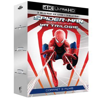 Spider-ManCoffret Spider-Man Origins La Trilogie Blu-ray 4K Ultra HD