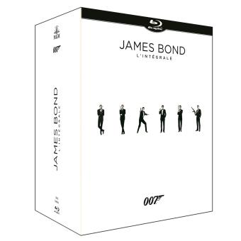 James BondCoffret James Bond 23 films Blu-ray