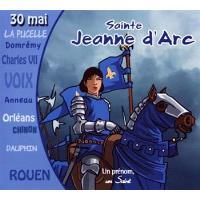 Sainte jeanne darc un premon un saint