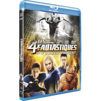 4 fantastiques et le surfer d'argent Blu-ray