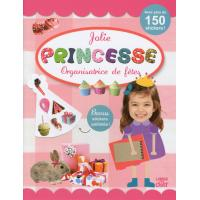 Jolie princesse organisatrice de fêtes