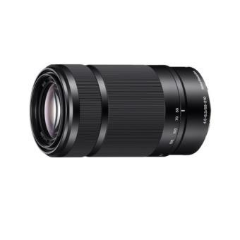 Hybride lenszoom Sony E 55 - 210 mm F / 4.5 - 6.3 OSS Zwart