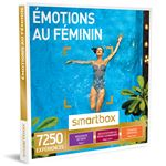 Coffret cadeau Smartbox Emotions au féminin
