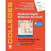 Médecine légale - Médecine du travail