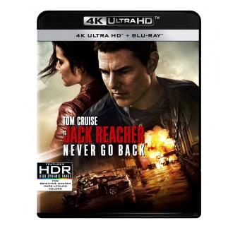 JACK REACHER 2 NEVER GO BACK-2BLURAY4K-BIL