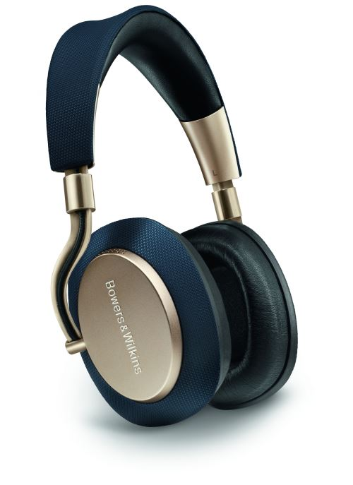 Casque sans fil Bowers & Wilkins PX Bleu marine et or