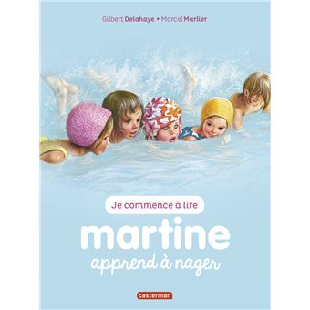 MartineMartine apprend à nager
