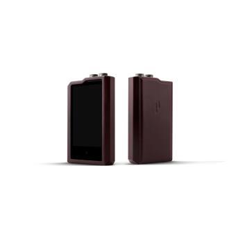 Lecteur MP3 Cowon Plenue 2 Argent 128 Go + Etui en cuir