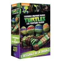 Coffret Les Tortues Ninja Saison 3 Volumes 9 à 12 DVD