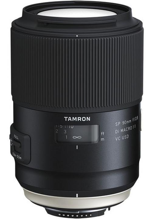 Objectif reflex tamron sp 90 mm f 2 8 di macro vc usd for Objectif a miroir pour nikon