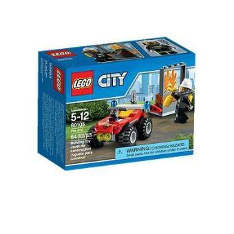 lego city 60105 le 4x4 des pompiers - Lego City Pompier