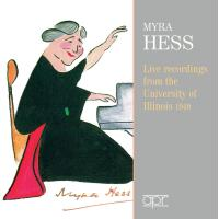 Myra Hess Intégrale des enregistrements