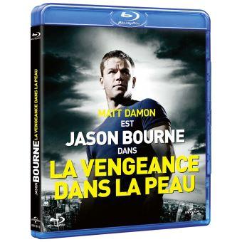 Jason BourneLa Vengeance dans la peau Blu-ray