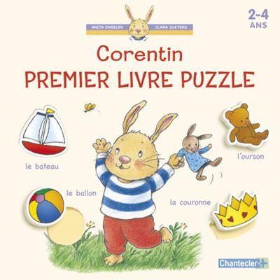 Corentin -  : Mon premier livre puzzle