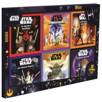 Star Wars Coffret Avec 12 Livres Star Wars Coffret 12 Livres