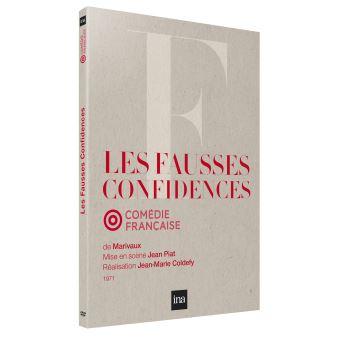 Les Fausses Confidences DVD