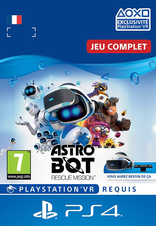 Code de téléchargement Astro Bot PS4