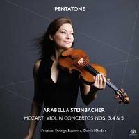 Concerto violon 3, 4, 5 - SACD hybride