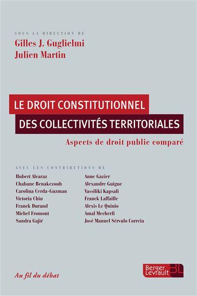 Droit constitutionnel des collectivites territoriales