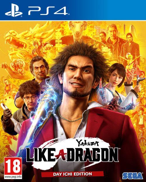 Yakuza Like a Dragon Day Ichi Edition PS4