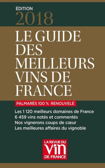 Guide des meilleurs vins de France 2018 - 9791032302002 - 17,99 €