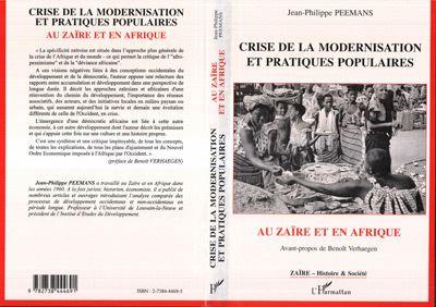 Crise de la modernisation et pratiques populaires au Zaïre et en Afrique
