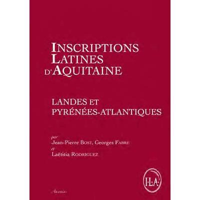 Inscriptions latines d aquitaine landes et pyrenees atlantiques