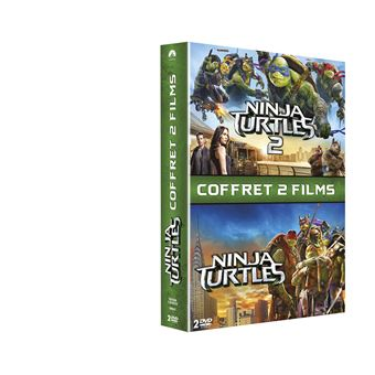 Ninja TurtlesNinja Turtles Coffret 2 films DVD