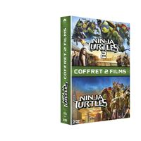 Ninja Turtles Coffret 2 films DVD
