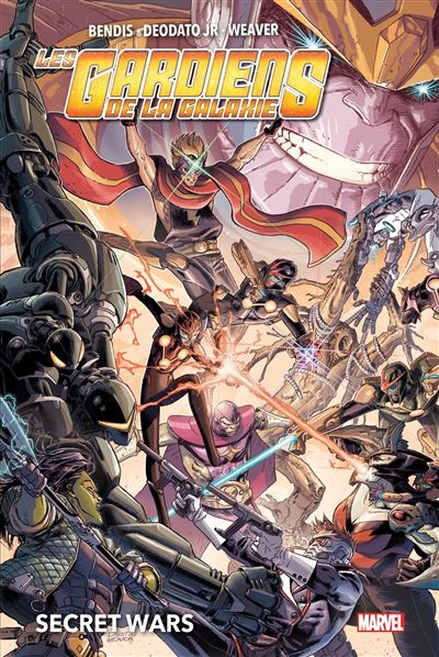 Les Gardiens de la Galaxie : Secret Wars