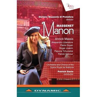MANON OPERA EN CINQ ACTES/DVD
