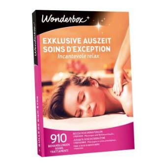 Coffret cadeau Wonderbox Soins d'exception