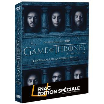 Le trône de ferGame of Thrones Saison 6 Edition spéciale Fnac DVD