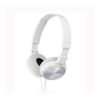 5 Sur Casque Sony Mdr Zx310 Blanc Casque Audio Achat Prix Fnac