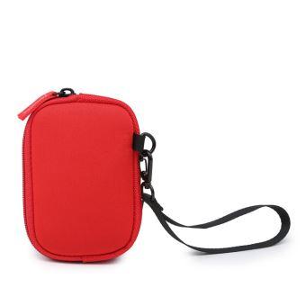 Etui Hemera Karthala Rouge pour Compact