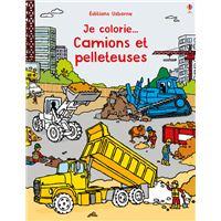 Je colorie... Camions et pelleteuses