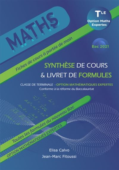 Mathématiques Expertes