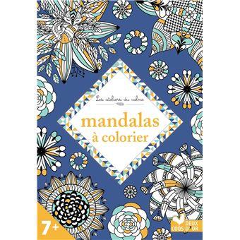 Coloriage Baleine Mandala.Mandala A Colorier Broche Lili La Baleine Marion Cocklico