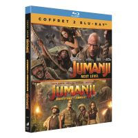 Coffret Jumanji : Bienvenue dans la jungle Jumanji et Next Level Blu-ray