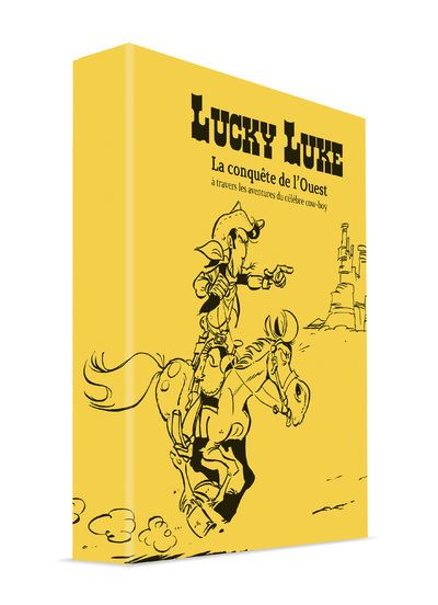 Coffret Lucky Luke Edition Prestige