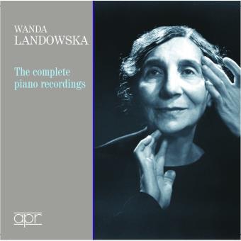 Wanda Landowska Intégrale des enregistrements