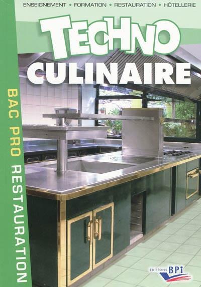 Technologie Culinaire Bac Pro Broche Michel Maincent Achat Livre Fnac