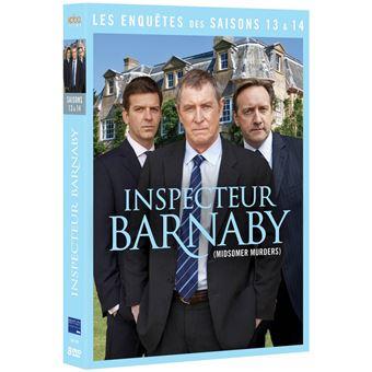 Inspecteur BarnabyCoffret Inspecteur Barnaby Saisons 13 et 14 DVD