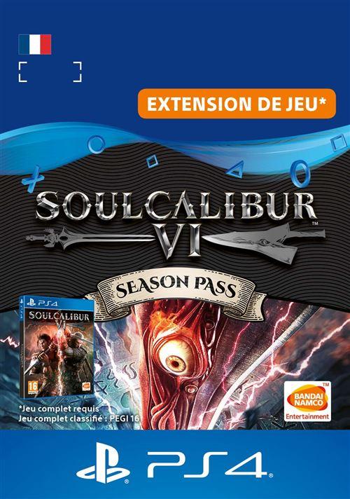 Code de téléchargement Soul Calibur 6 Season Pass PS4