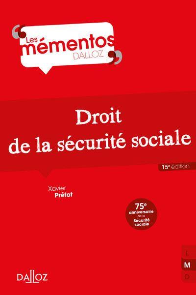 Droit de la sécurité sociale - 14e ed.